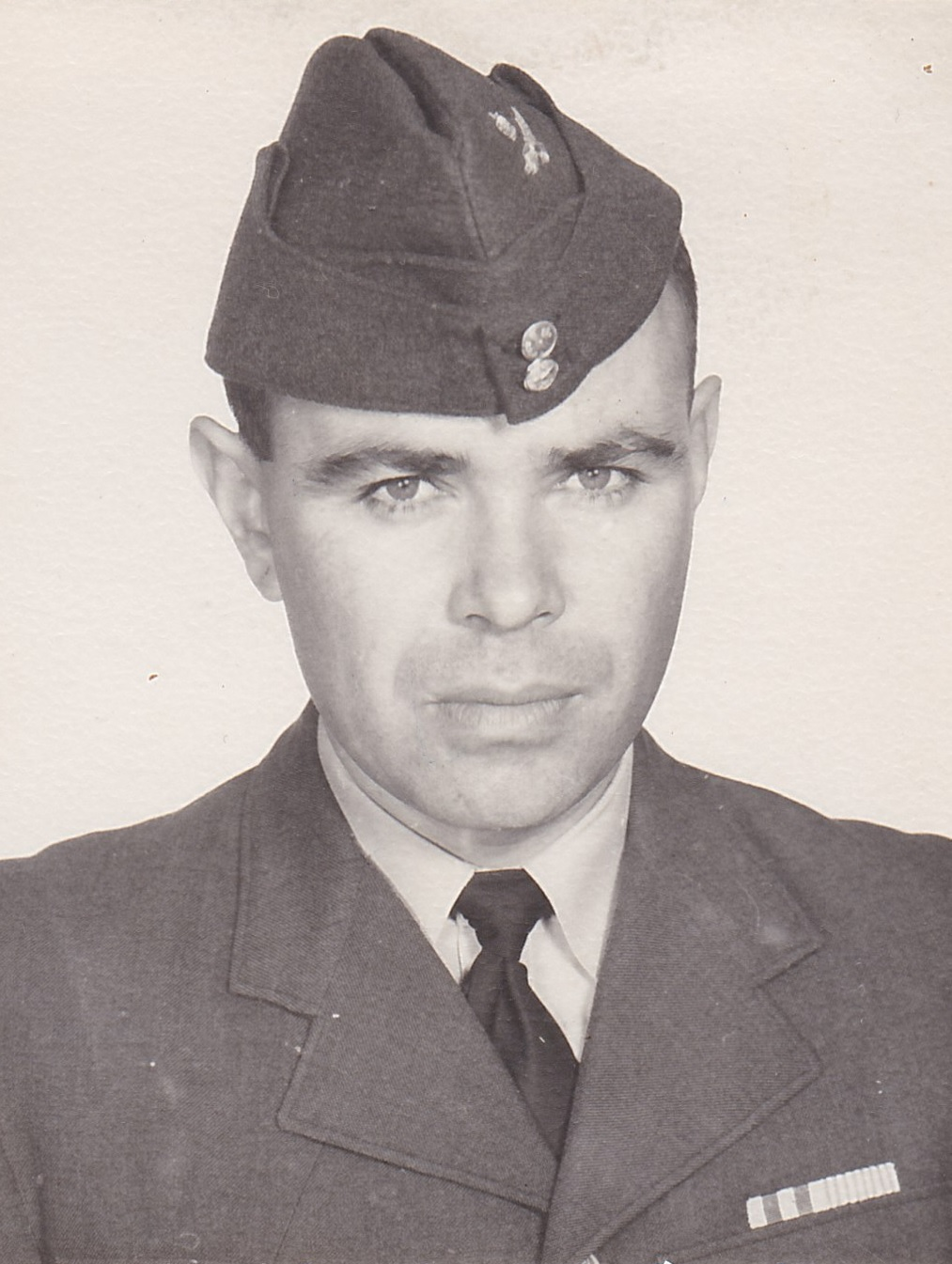 baf10c326a Portrait of Russell after he joined the RCAF ...